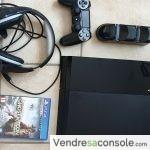 Console PS4 1To + casque+ manette + jeux